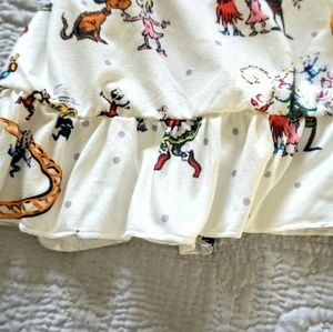 Pajamas - The Grinch Who Stole Christmas long pajama dress